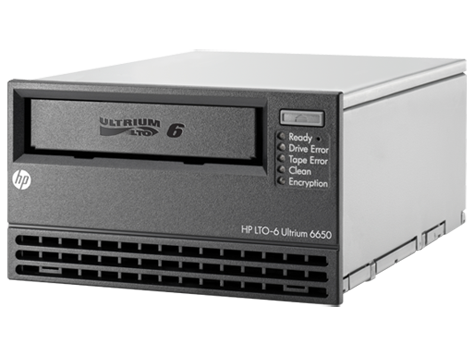 HPE StoreEver LTO-6 Ultrium 6650 SAS Internal Tape Drive
